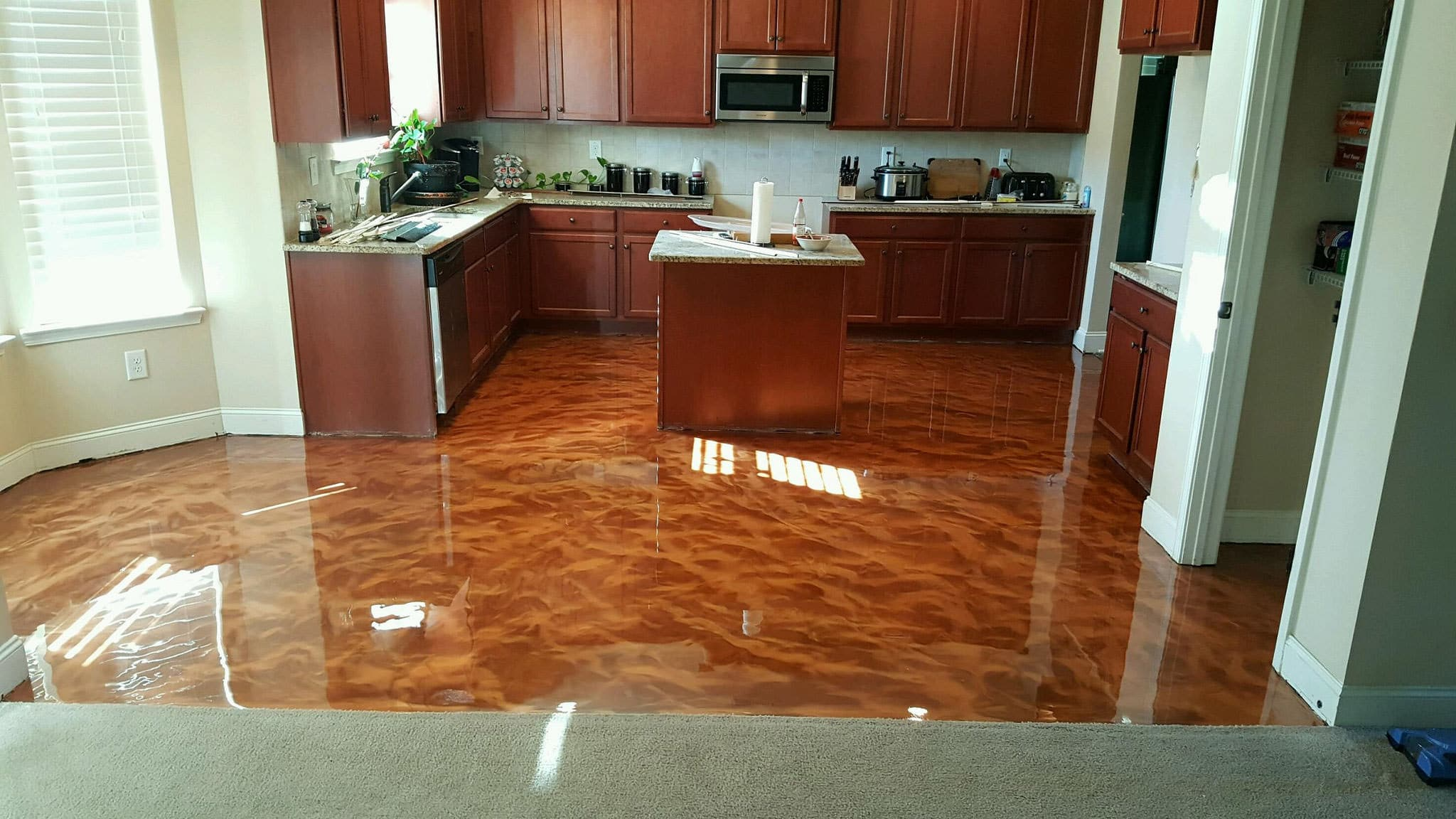 Atx Stained Concrete Stained Concrete Austin Polished